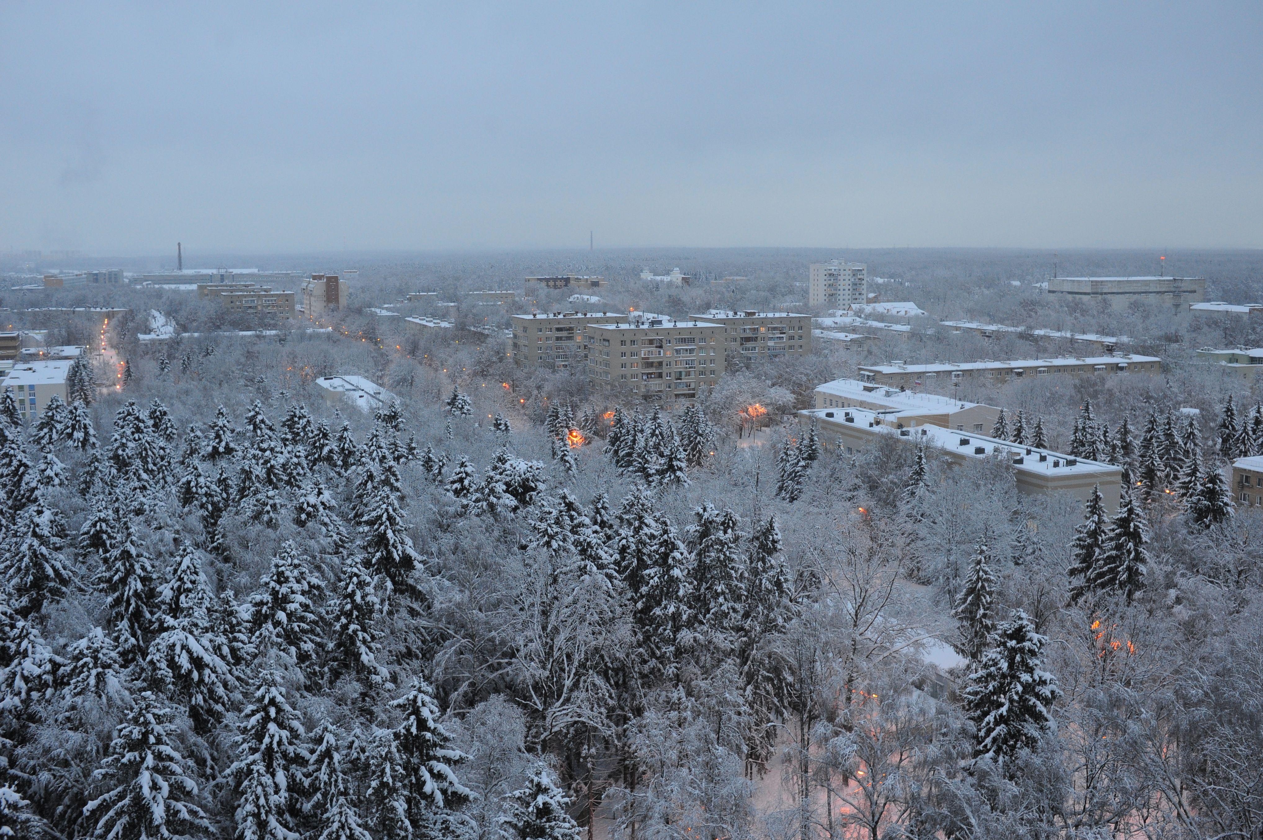 Высота сугробов в Москве составит восемь сантиметров