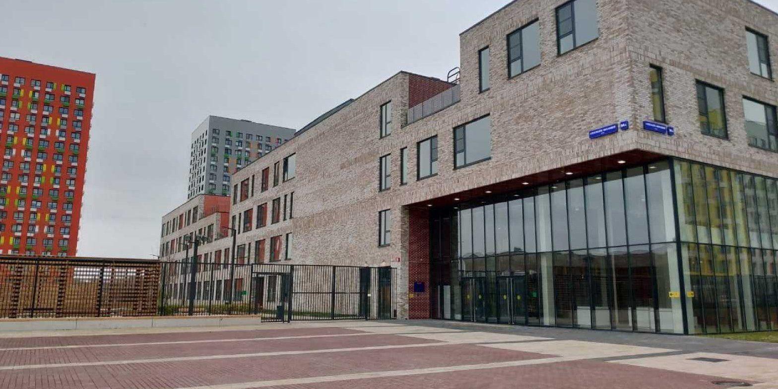 Новую школу №338 полностью обустроили в Коммунарке