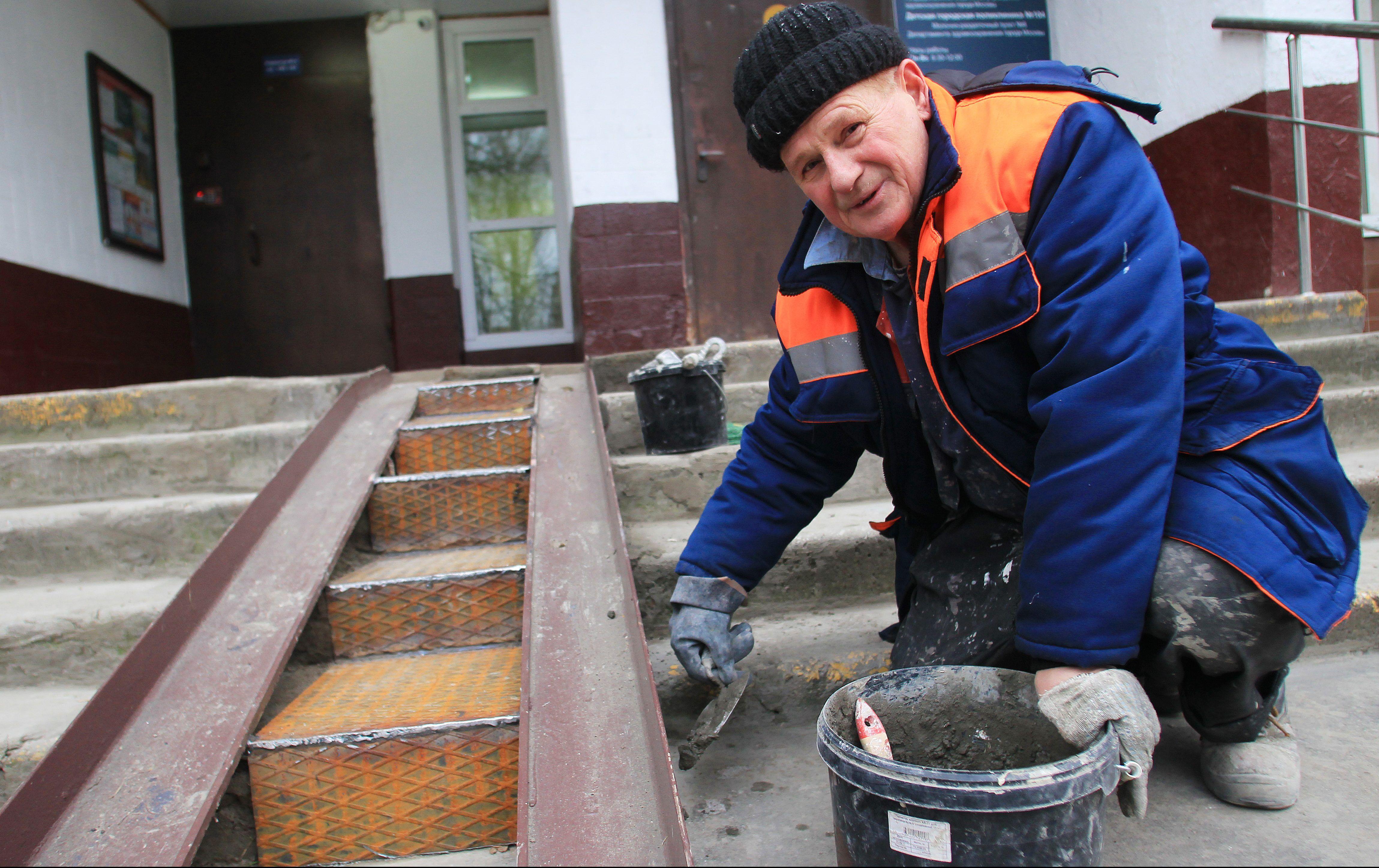 Складной пандус по просьбе местных жителей оборудовали в селе Красное