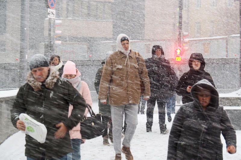 Снежные заносы ожидаются на дорогах Москвы в выходные