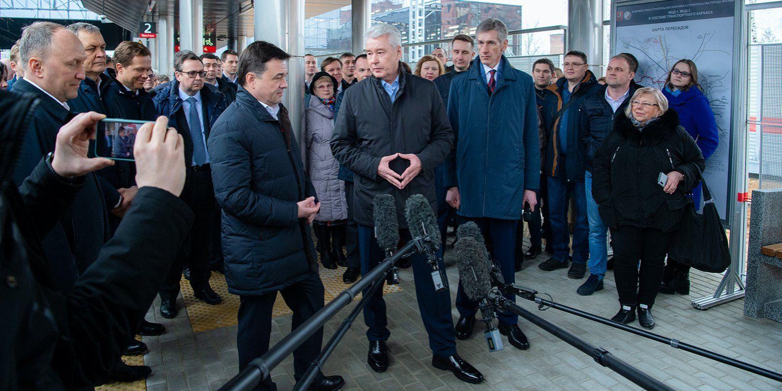 На Киевском направлении МЖД запустили платформы Победа и Санино