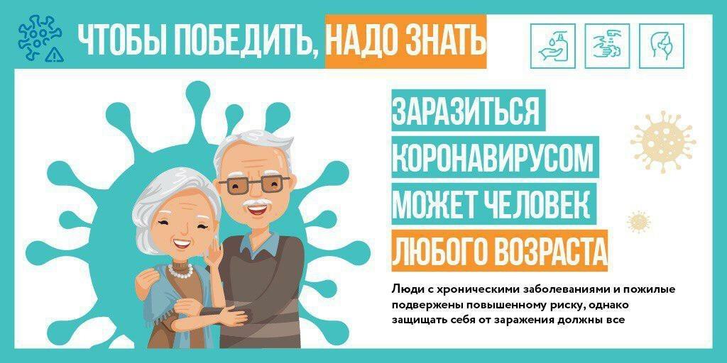 Коронавирус опасен для любого возраста