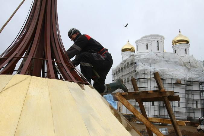 Храмовый комплекс возведут в Первомайском