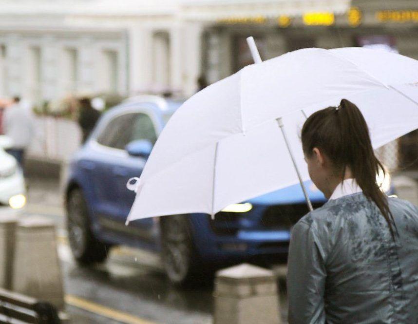 Небольшой дождь ожидает москвичей 8 марта
