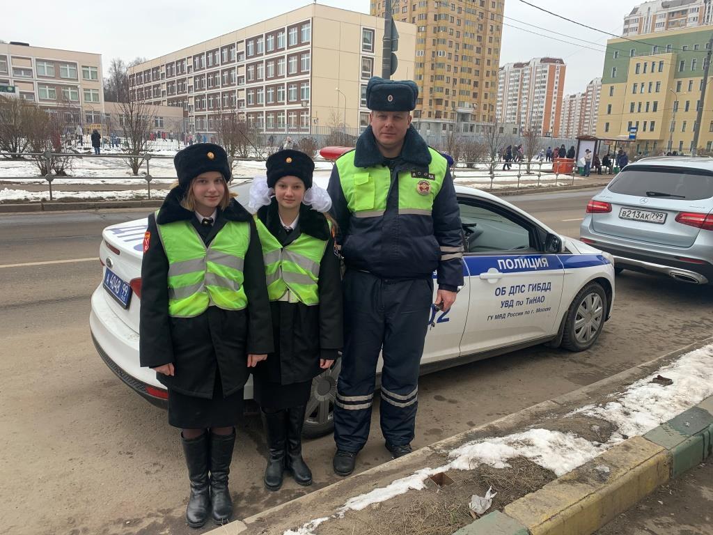Инспекторы ГИБДД Новой Москвы провели рейд «Внимание дети!»