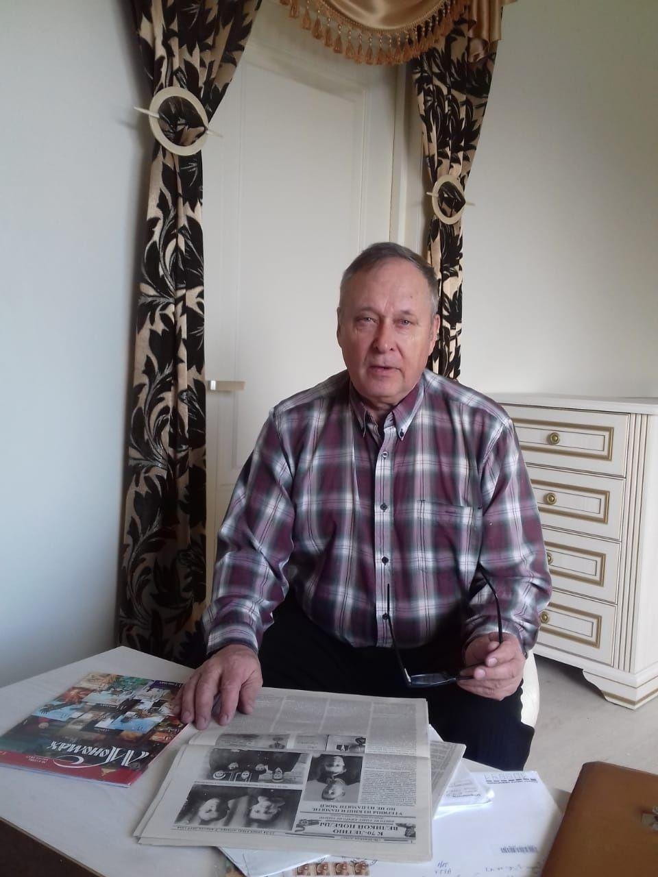 28 марта 2020 года. Алексей Николаев (2) из Троицка после выхода на пенсию восстановил боевой путь своего отца, а заодно некоторых его сослуживцев