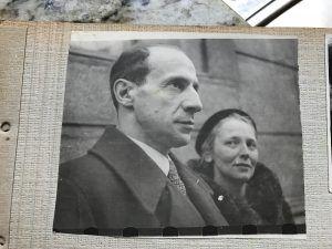 Ксения и Яков Рыкачевы — мать и отчим Нагибина. Фото: из личного архива