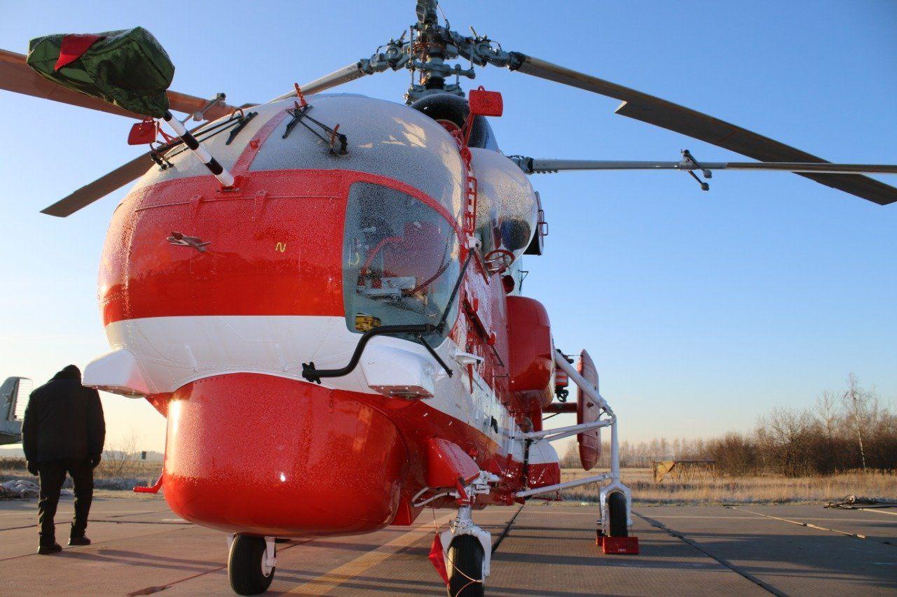 Новый вертолет появился в московском небе