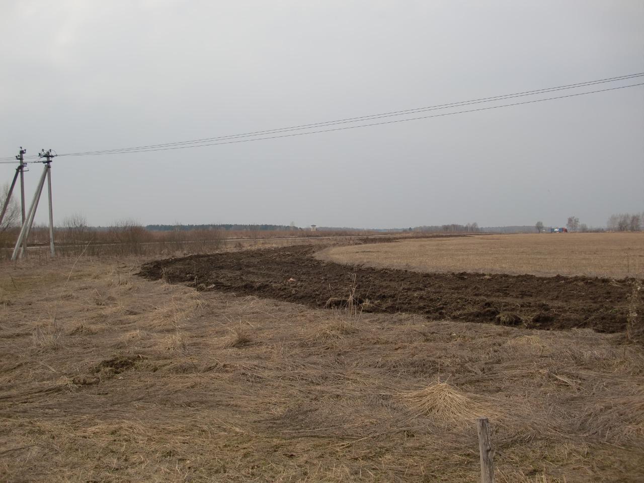 Противопожарные мероприятия провели на полях в Десеновском