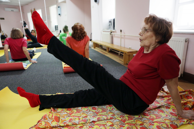 Елена Скороходова будет проводить гимнастику для самоизолированных