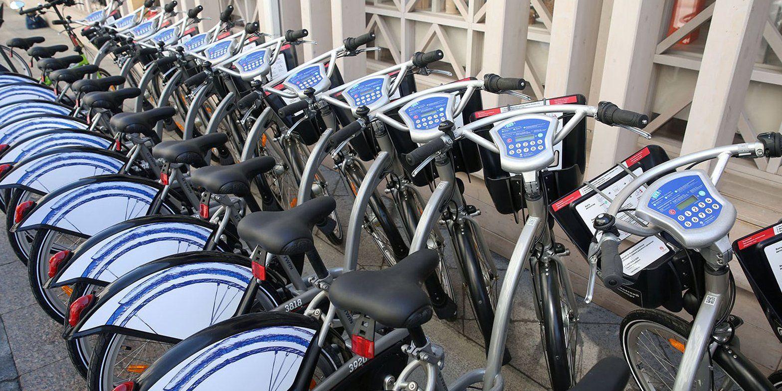 Станции велопроката открыли для курьеров и волонтеров в Москве
