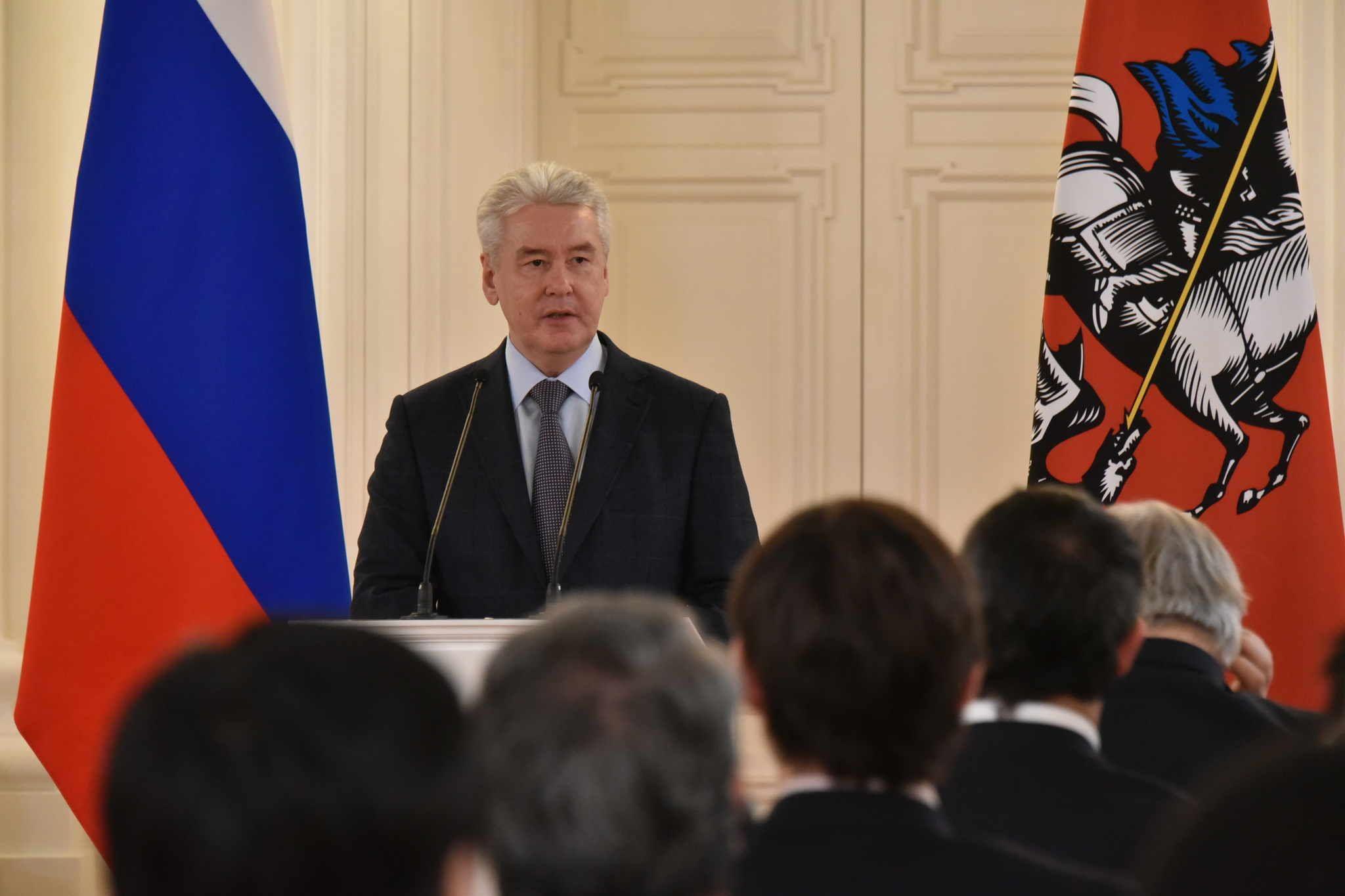 Собянин: Условия для соцдистанцирования должны быть созданы повсеместно