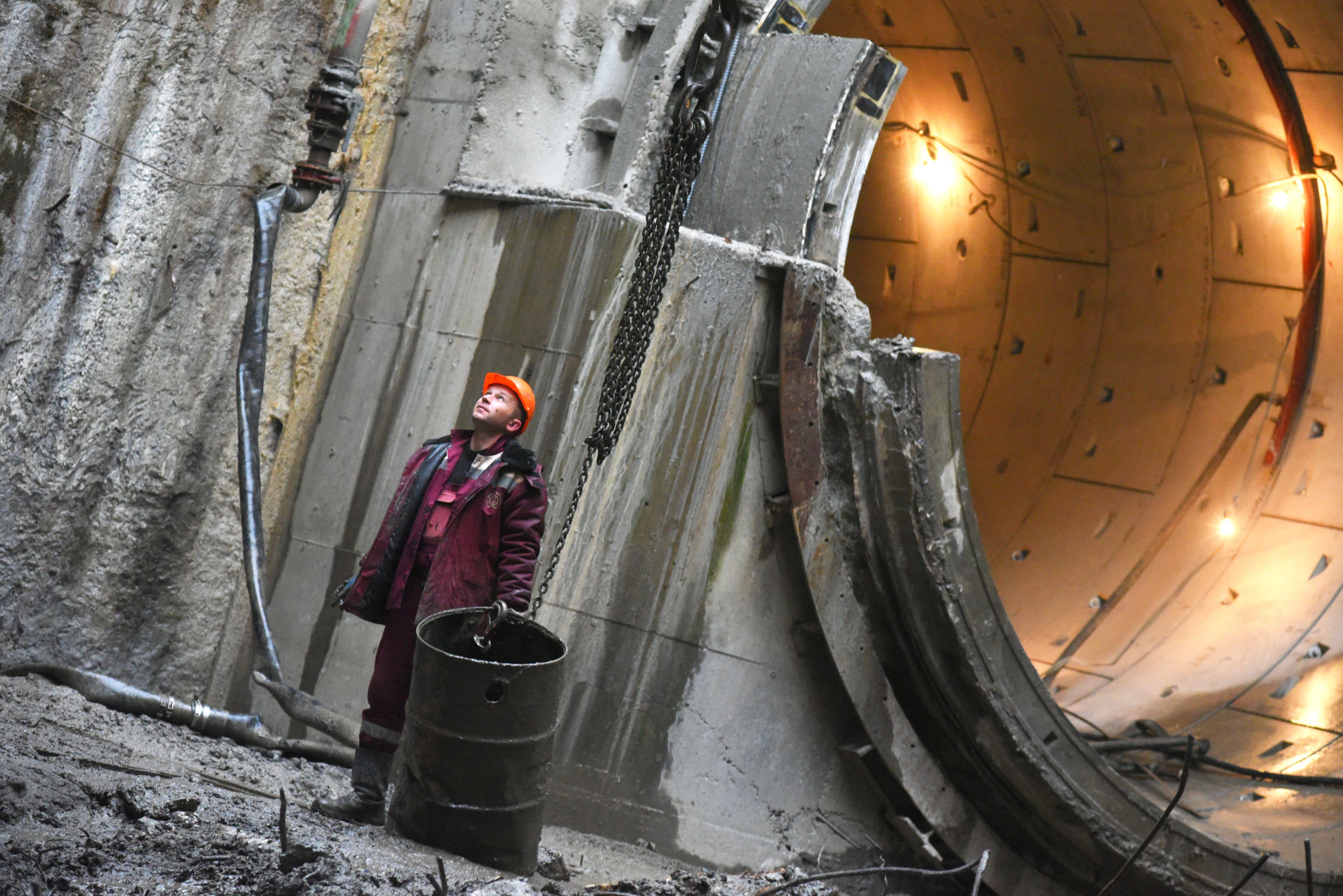 Почти 80 процентов тоннелей построили на Большом кольце московского метро