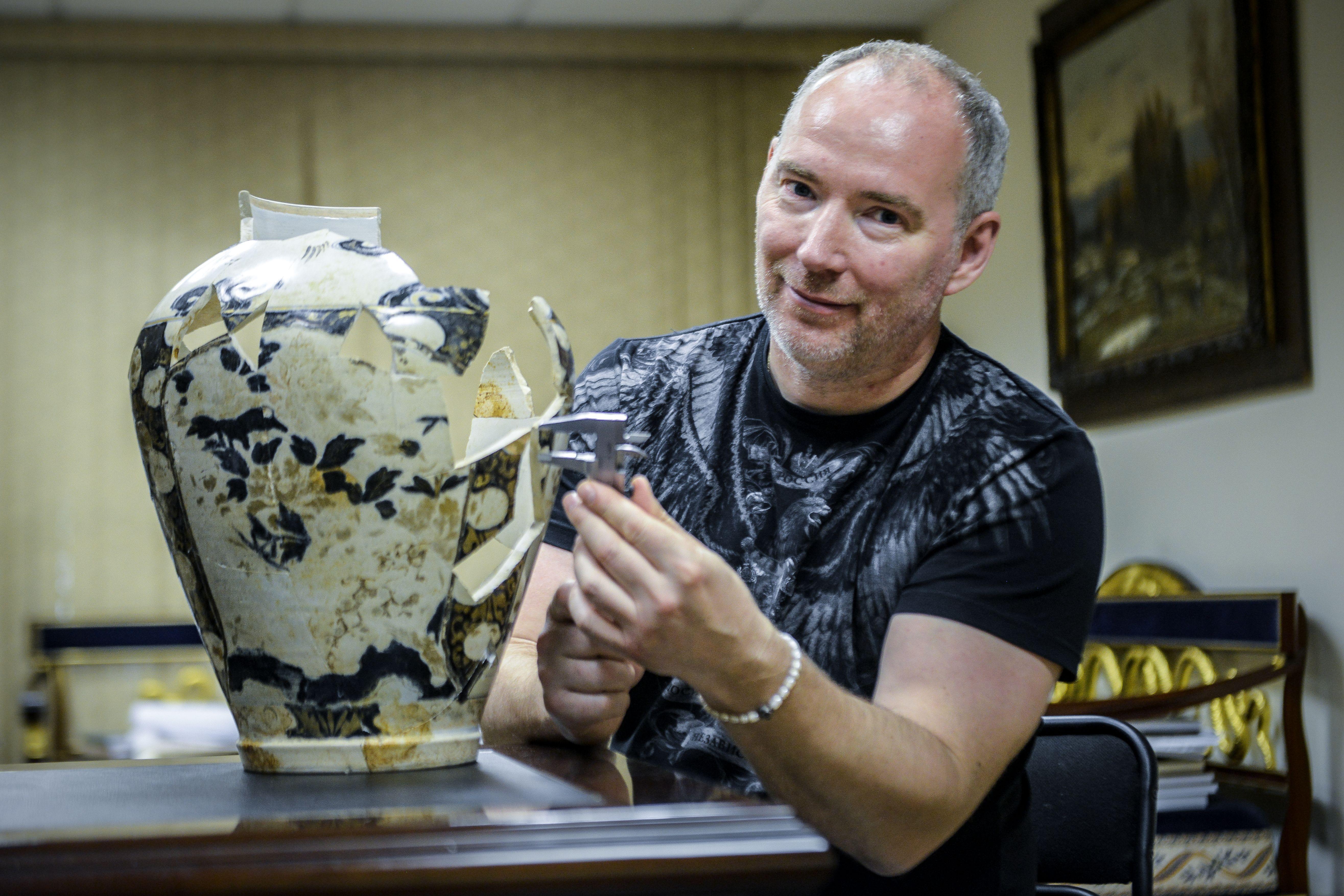 Московские археологи восстановили свыше 200 находок