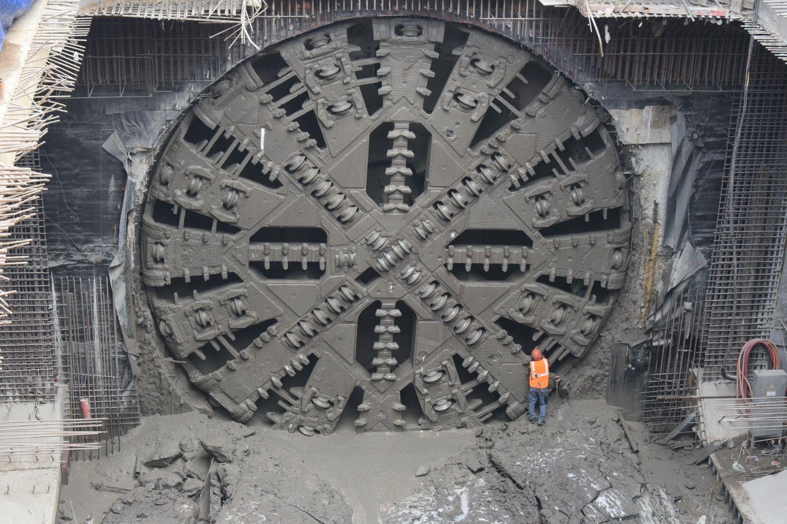 Проходка восьмого тоннеля стартовала на Коммунарской линии метро