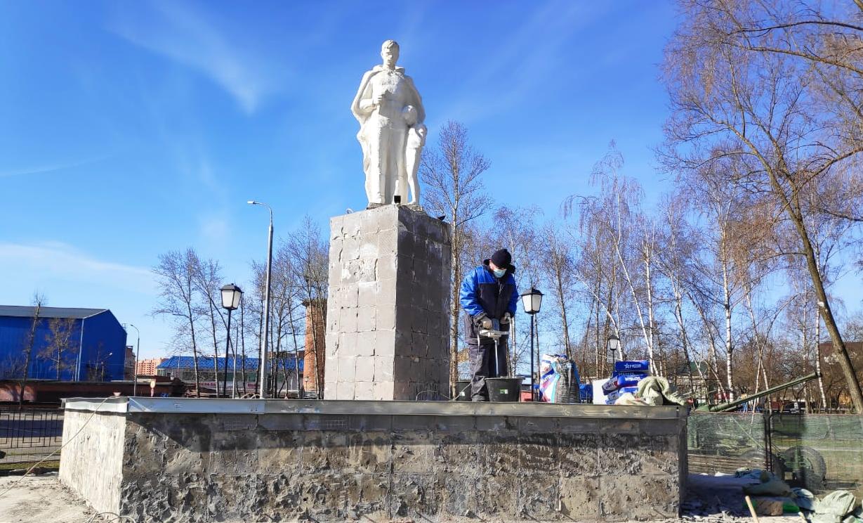 Памятники героям Великой Отечественной войны отреставрируют в Новой Москве
