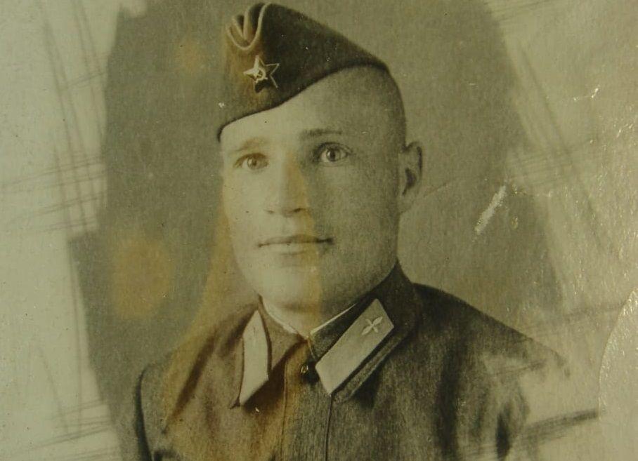 1940 год. Аркадий Ворожцов. Фото из семейного архива