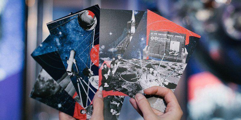 Фотоколлаж активистов из Краснопахорского отправят в космос