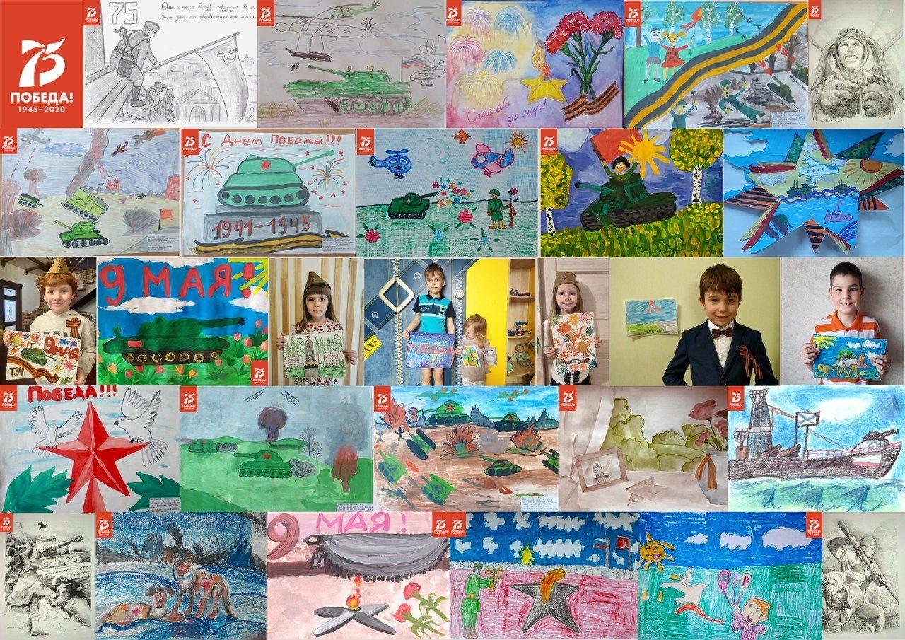 В Московском авиацентре подвели итоги конкурса рисунков, посвященного 75-летию Великой Победы