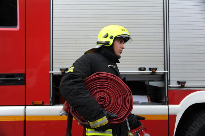Пожарные ликвидировали возгорание в больнице на севере Москвы