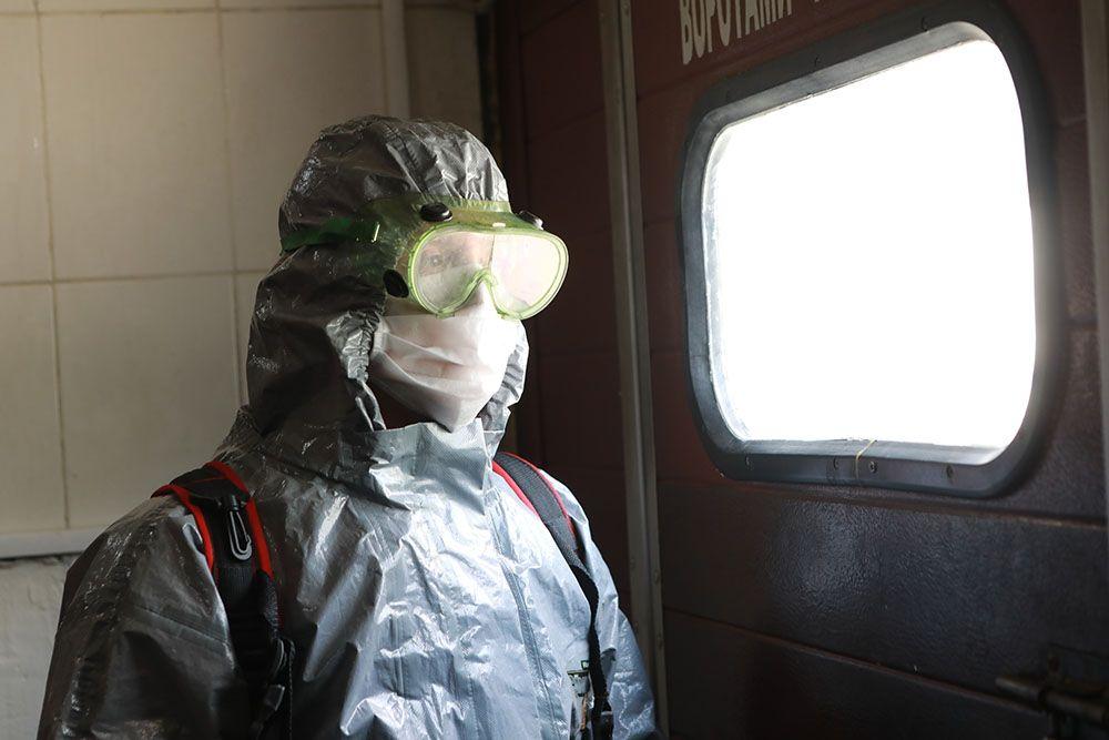 Московские автобусы будут дезинфицировать на конечных станциях
