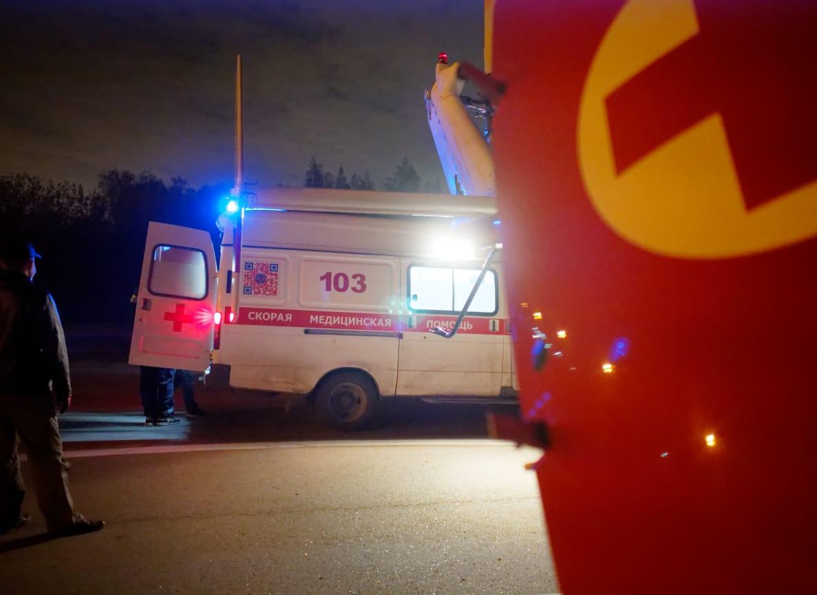 Экипаж санитарного вертолета Московского авиационного центра вылетал по вызову в ТиНАО
