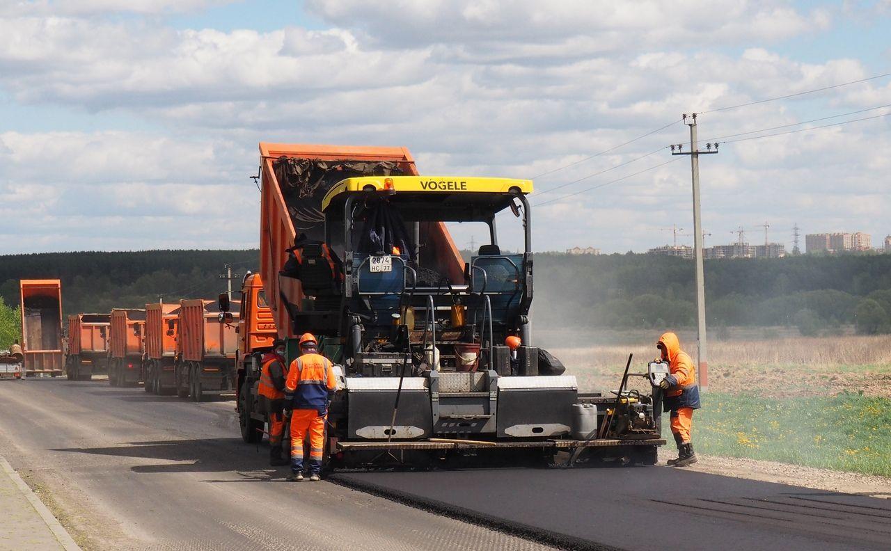 Дорогу начали восстанавливать на участке от деревни Мостовское до Рязановского шоссе