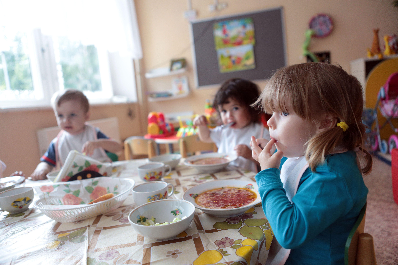 Строительство детского сада в Московском завершают
