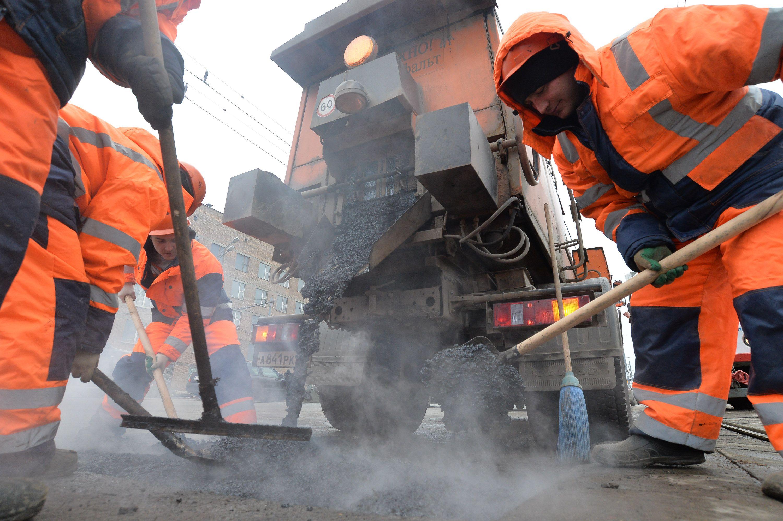 Поврежденные участки дороги отремонтировали в Новофедоровском