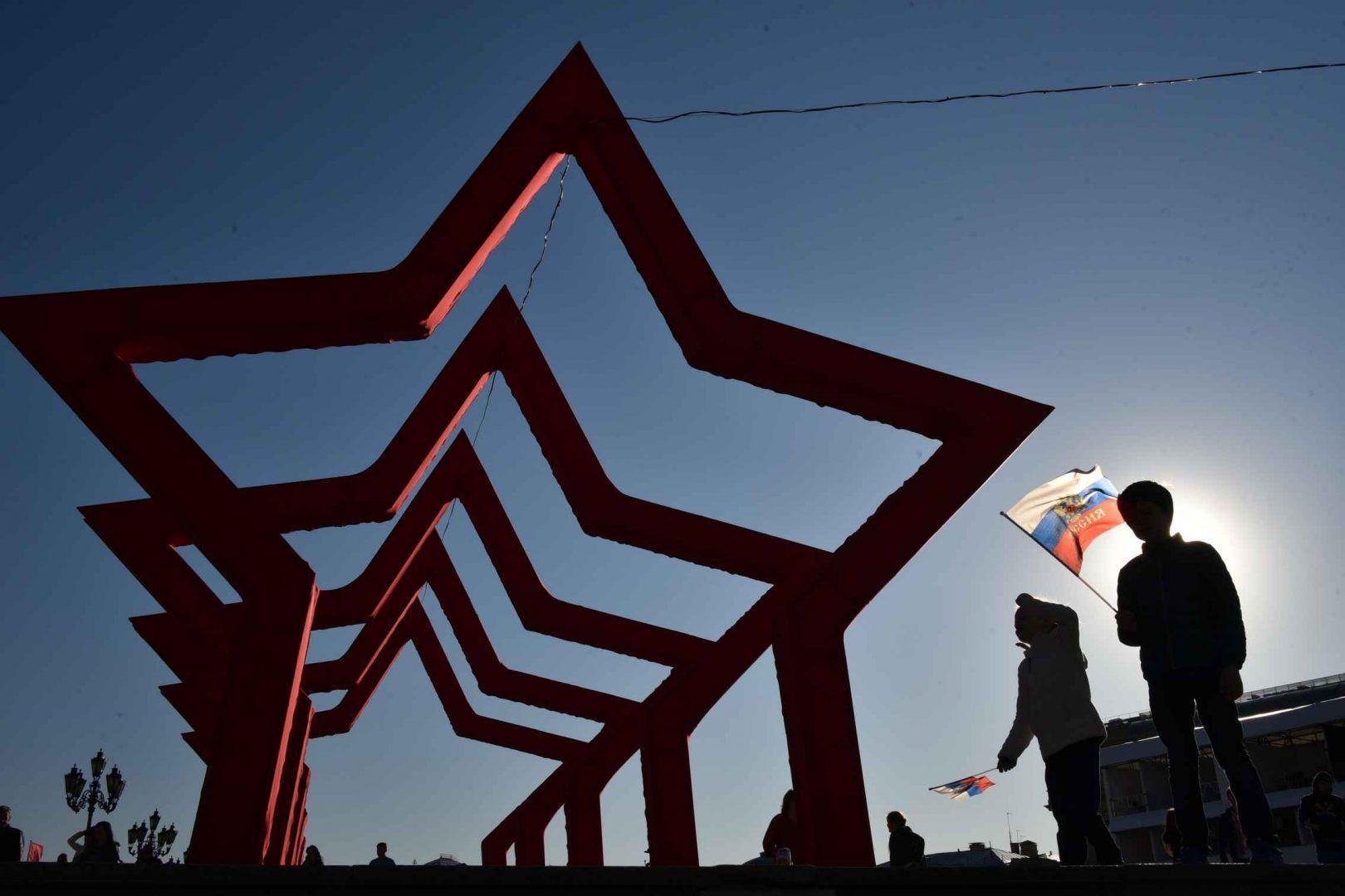 Открытки доставят волонтеры. Фото: Владимир Новиков, «Вечерняя Москва»