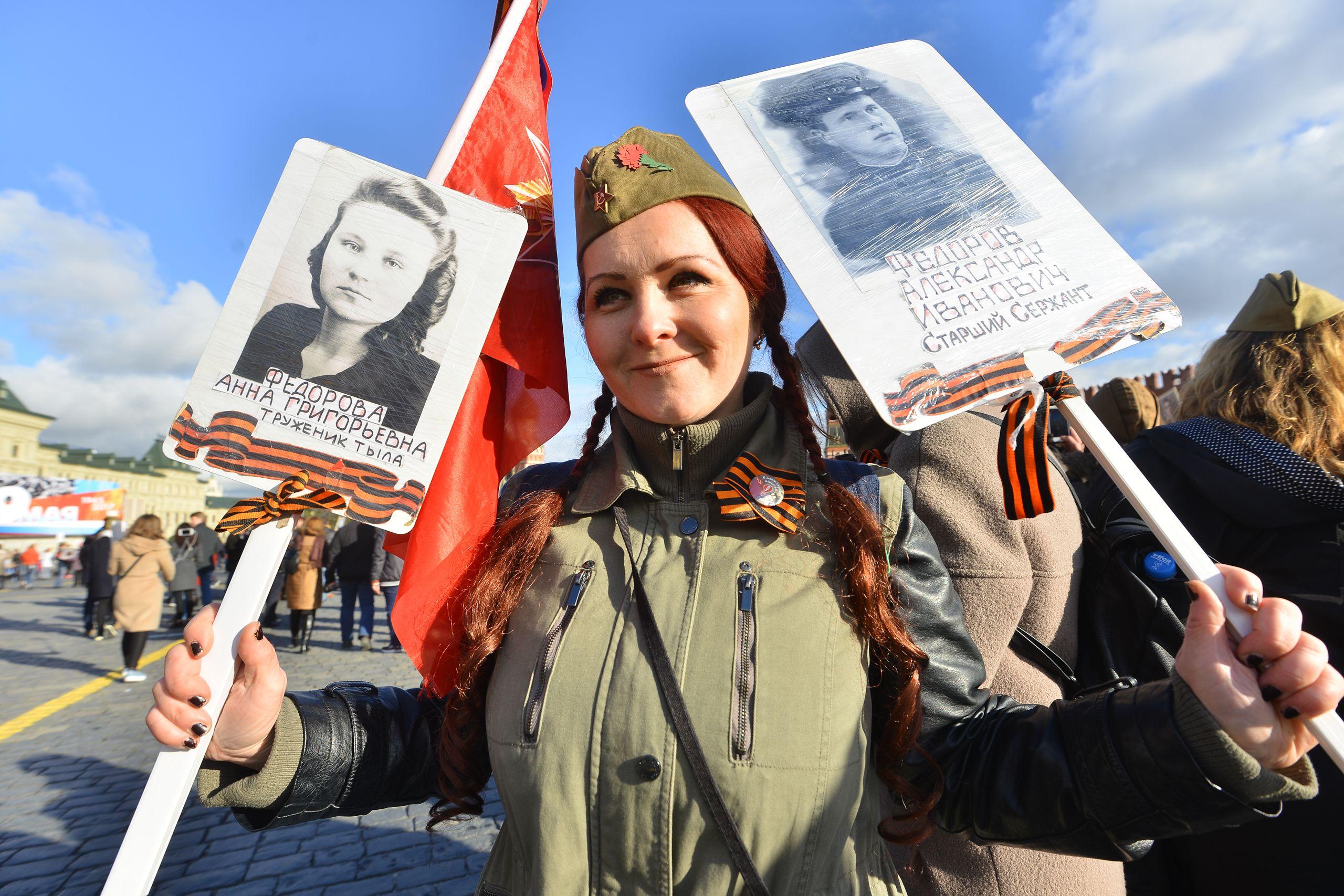Москвичи оценят первый «Бессмертный полк» в онлайн-формате