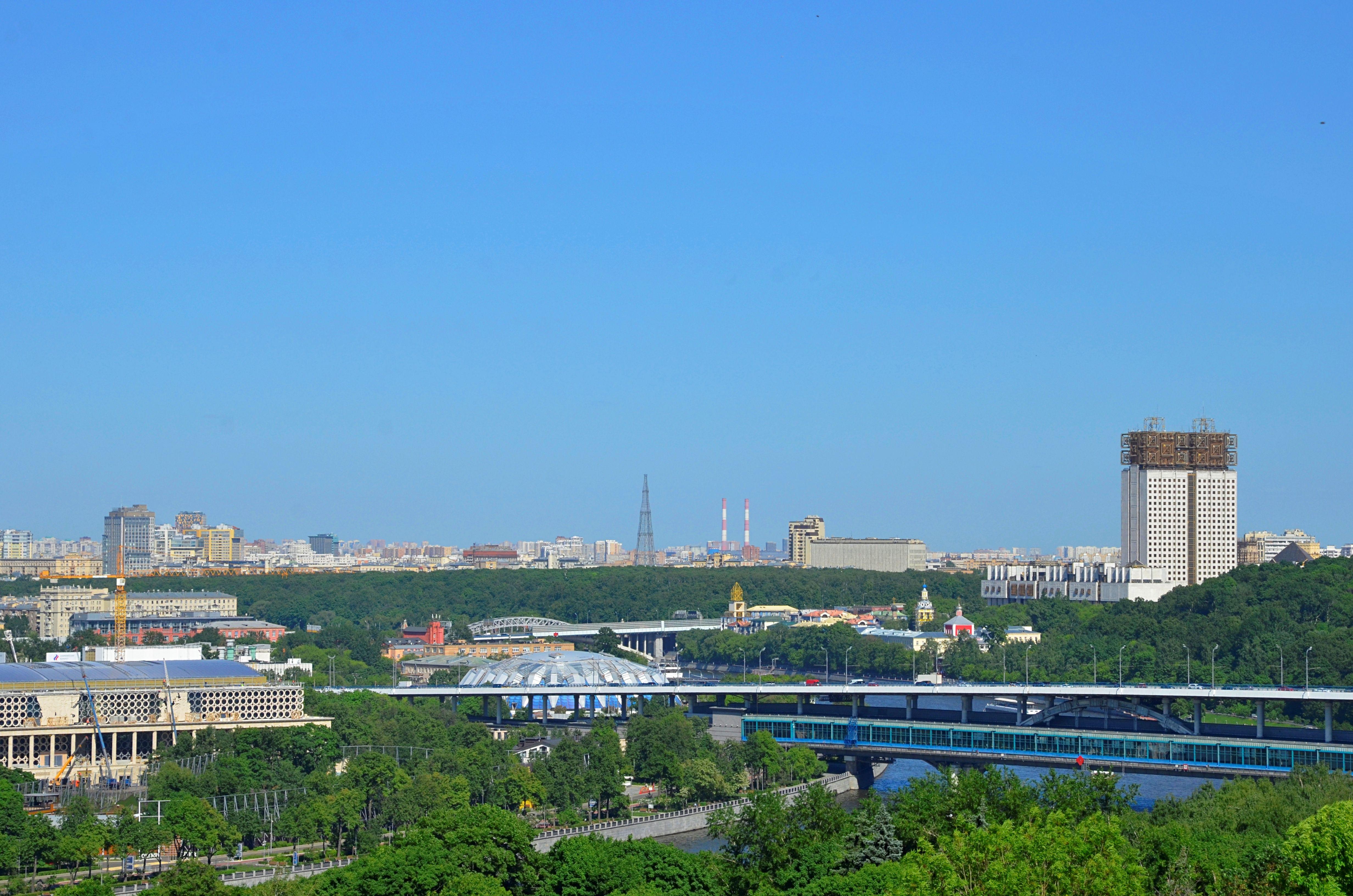 Теплая погода ожидается в Москве и области