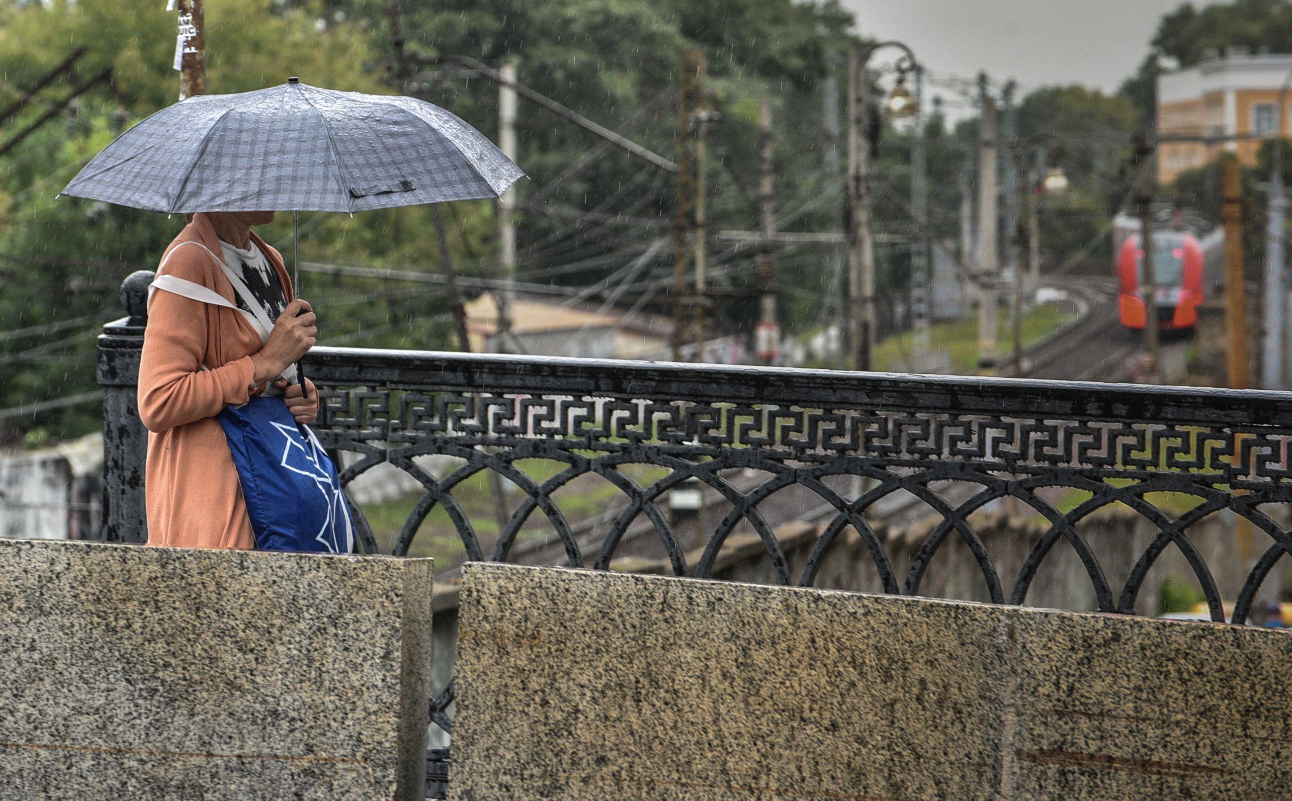Погода на выходных в Москве будет дождливой