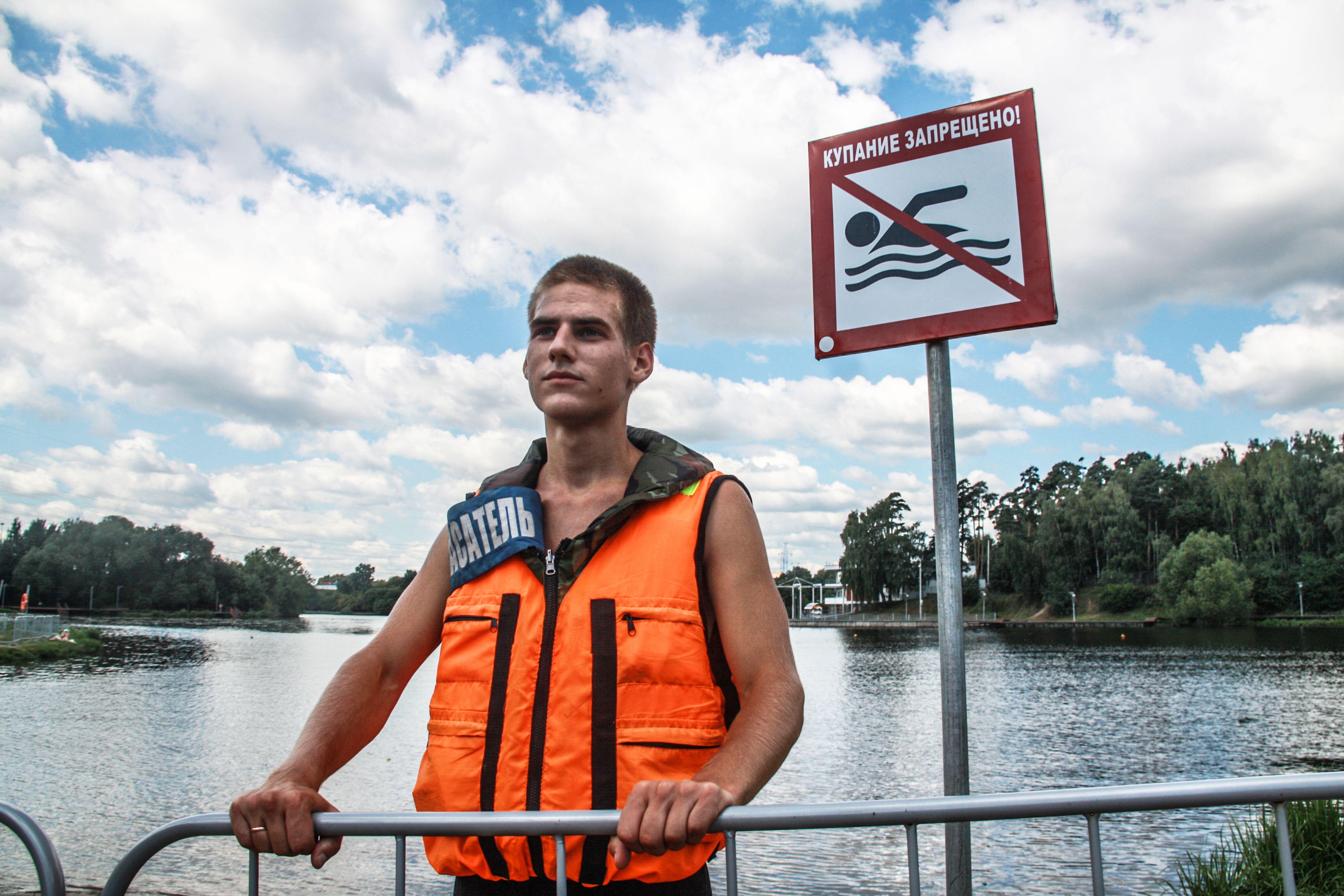 Купание запрещено: в Краснопахорском заменили предупреждающие таблички на сезонные