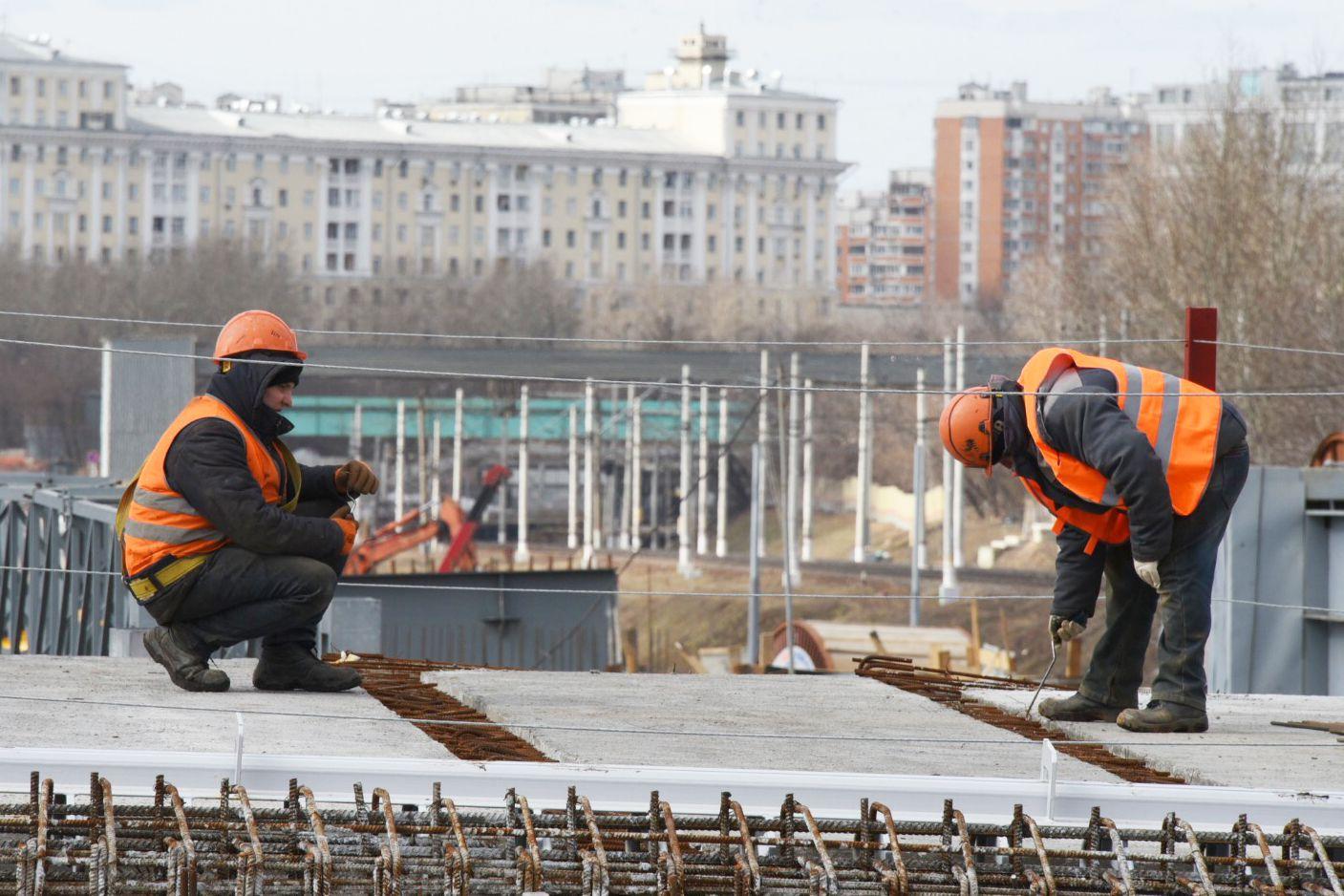 Новый путепровод через МЦК облегчит жизнь москвичей