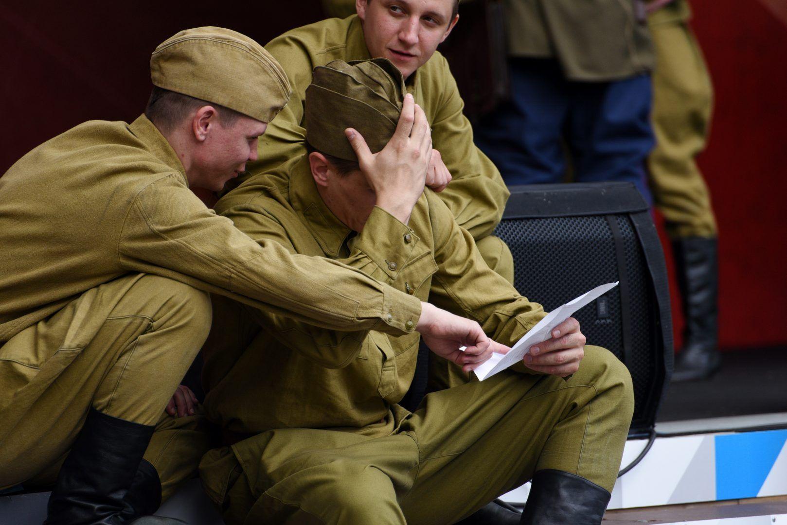 Задача участника написать письмо ветерану Великой Отечественной войны. Фото: Пелагия Замятина, «Вечерняя Москва»