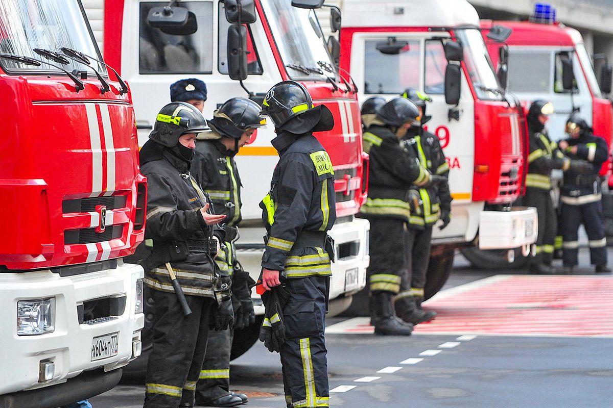 К пожарному депо в поселениях Щаповское и Краснопахорское провели подъездные дороги. Фото: сайт мэра Москвы