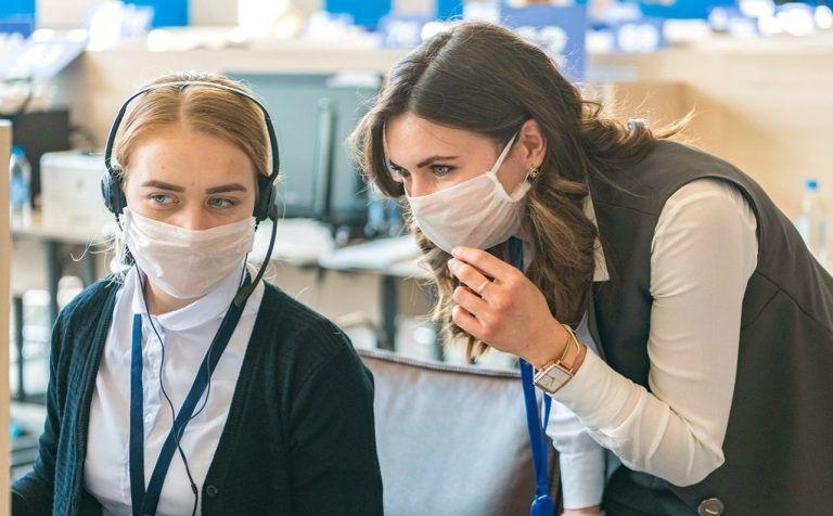 Волонтерские движения мобилизовались в период пандемии. Фото: сайт мэра Москвы