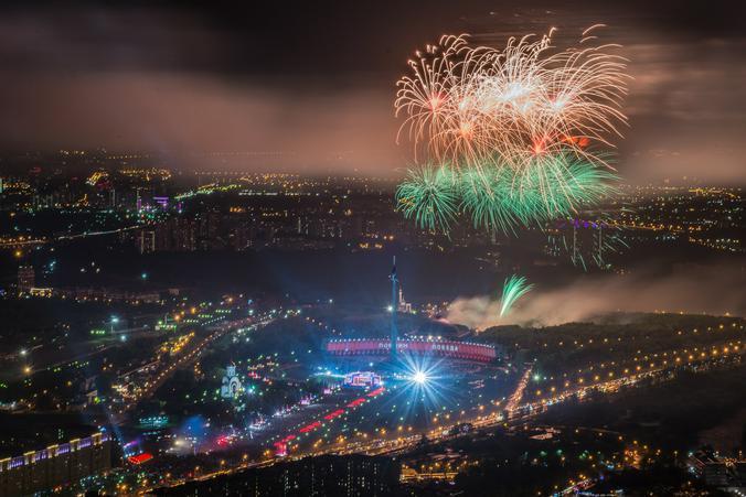 Москвичи смогут увидеть праздничный салют в День Победы по видеотрансляции