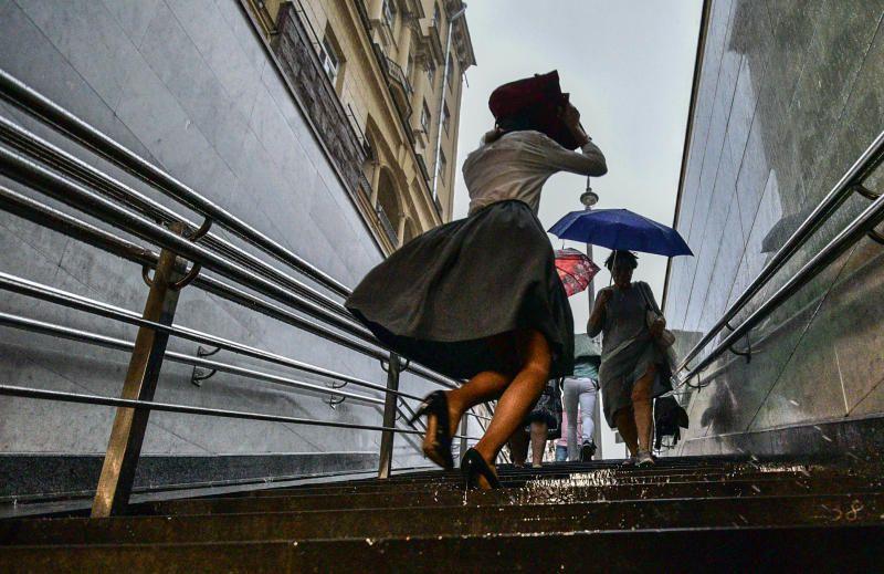 В Москве ожидаются ливни с градом