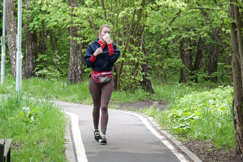 Москва открыла парки для прогулок и пробежек