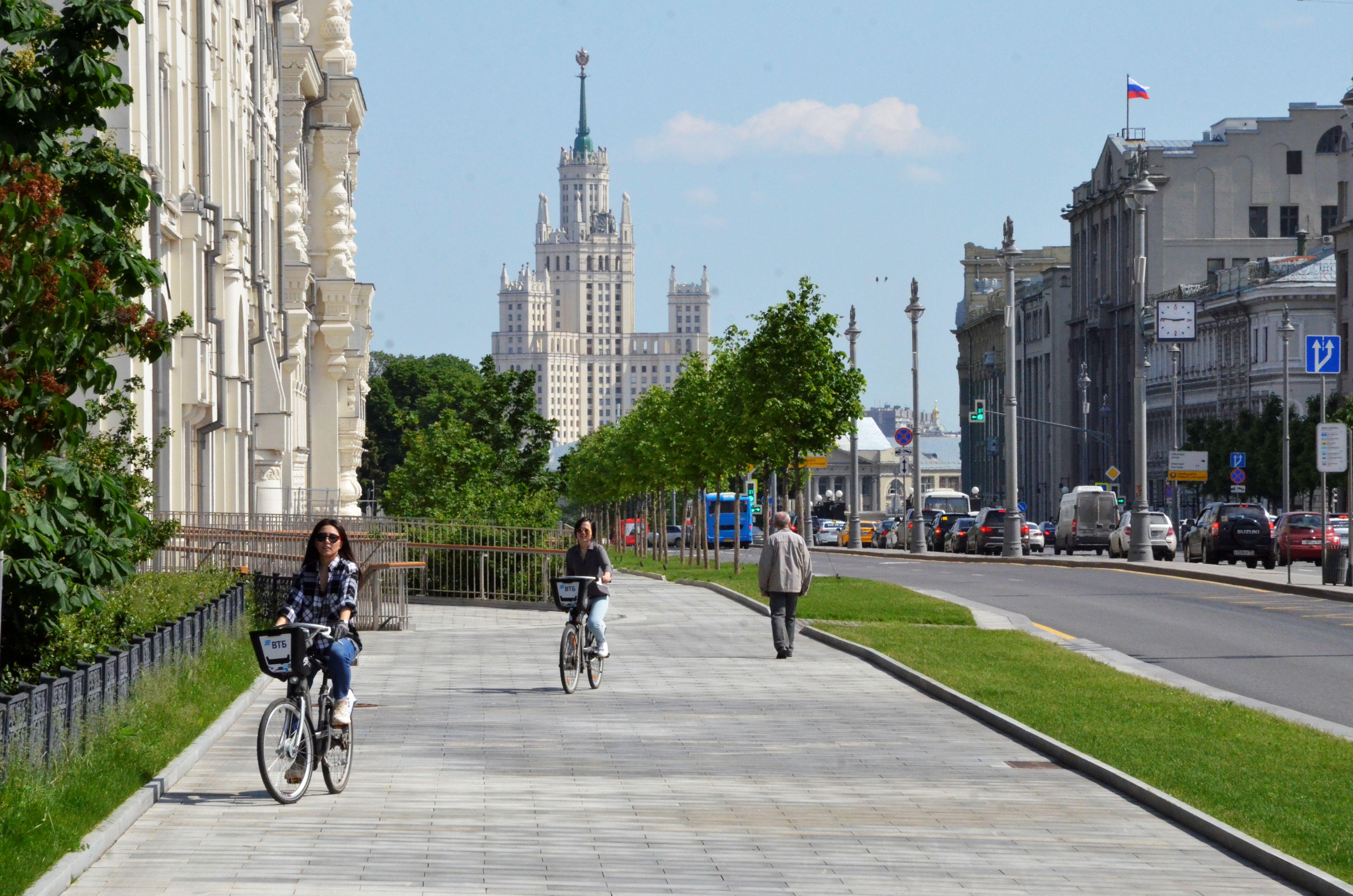 Московская температура начнет падать с 12 июня