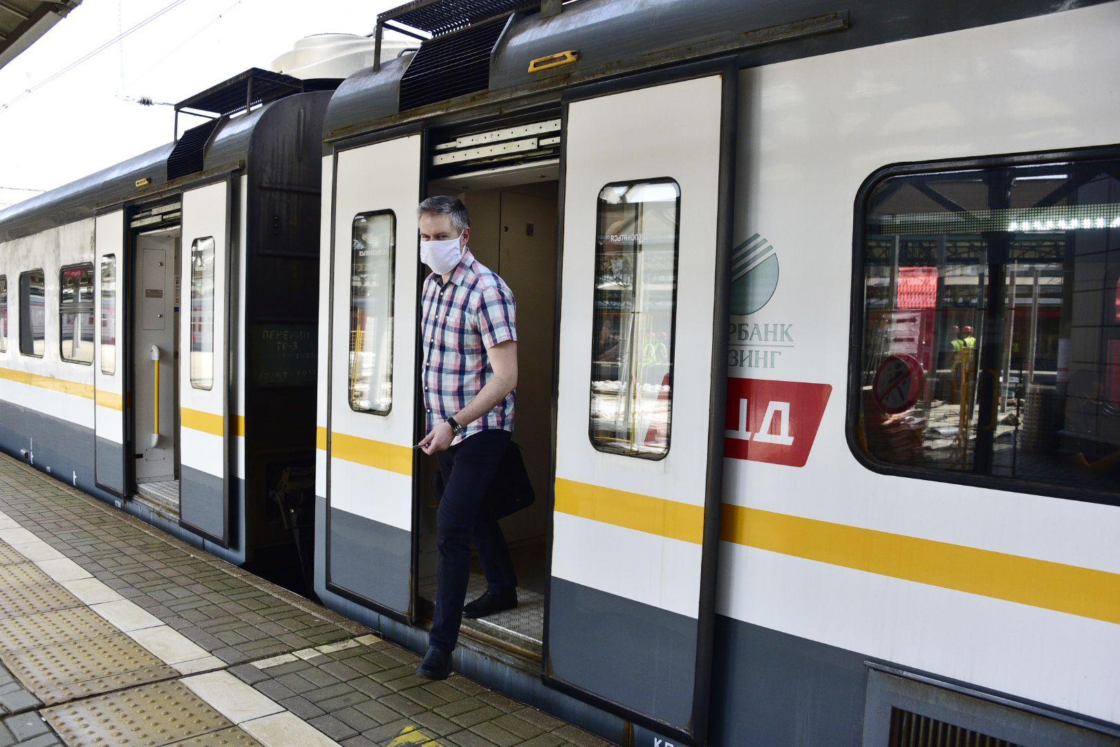 Пассажиропоток МЦД увеличился после окончания режима самоизоляции