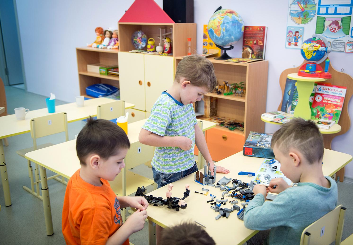Корпуса детского сада в Московском выполнят в виде домиков