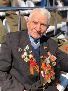 На фото: Герой Великой Отечественной войны Михаил Щербенко