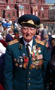 На фото: ветеран Великой Отечественной войны Николай Ярко