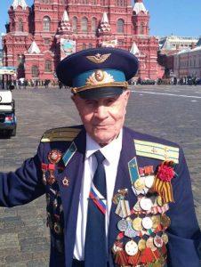 На фото: герой Великой Отечественной войны Андрей Ольшанский