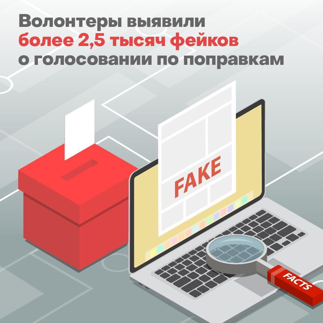 Волонтеры обнаружили уже порядка 2500 фейковых новостей о голосовании