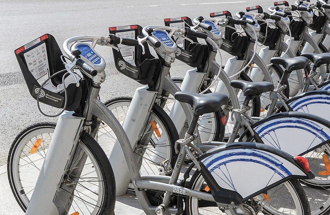 Депутат Мосгордумы Киселева: Около 67 тыс поездок за день совершается на прокатных велосипедах в Москве. Фото: сайт мэра Москвы