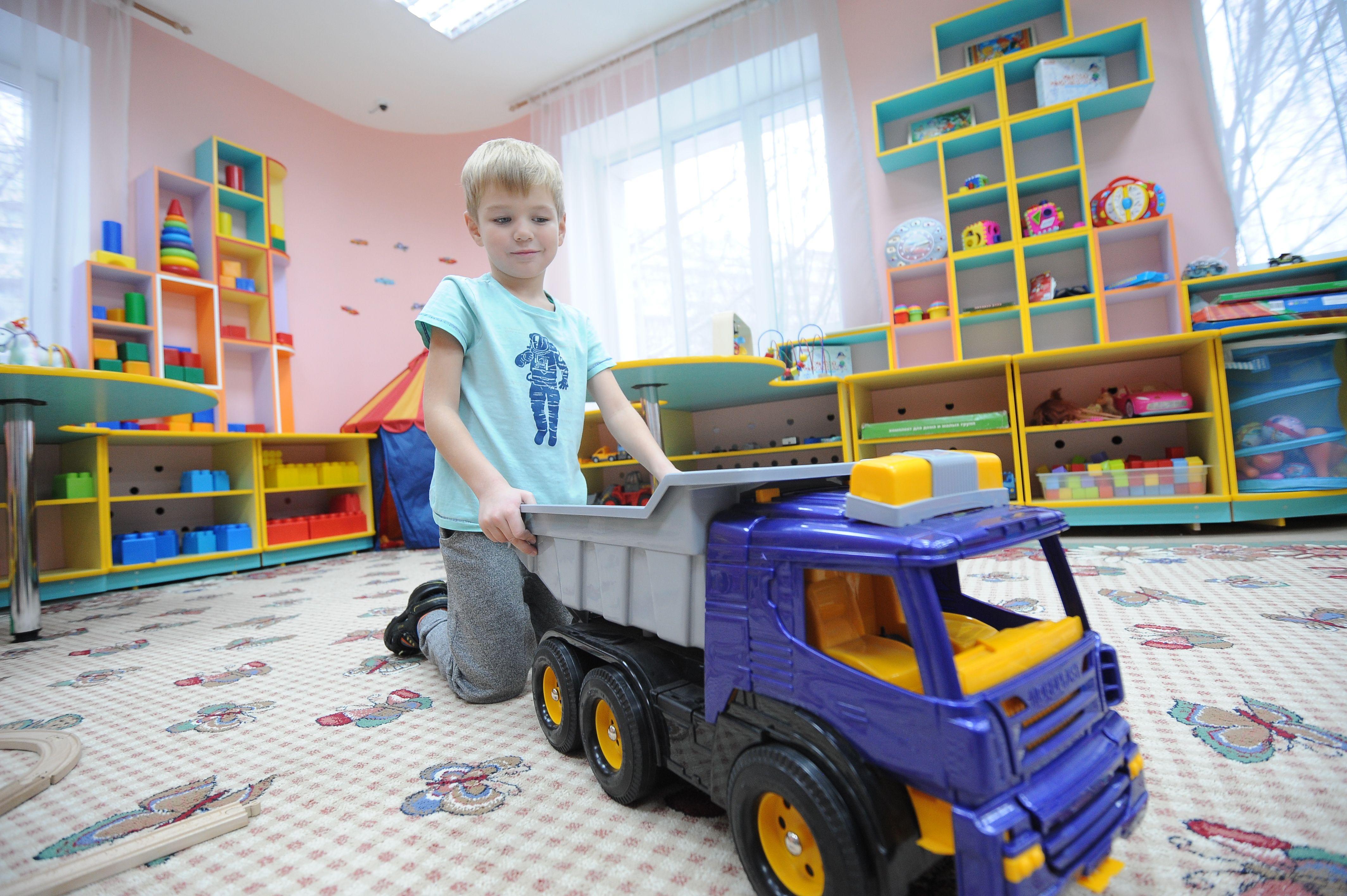 Детский сад в бело-оранжевых цветах построят в Московском